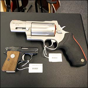 Photo of pistols for sale at 5 Star Pawn